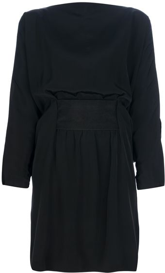 Balenciaga Split Sleeve Dress - Lyst