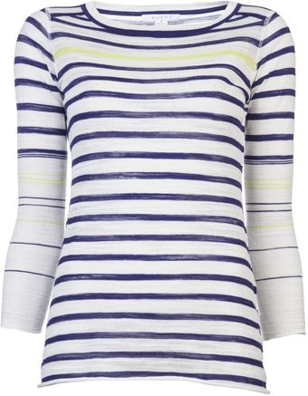 Duffy Papiro Stripe Sweater - Lyst