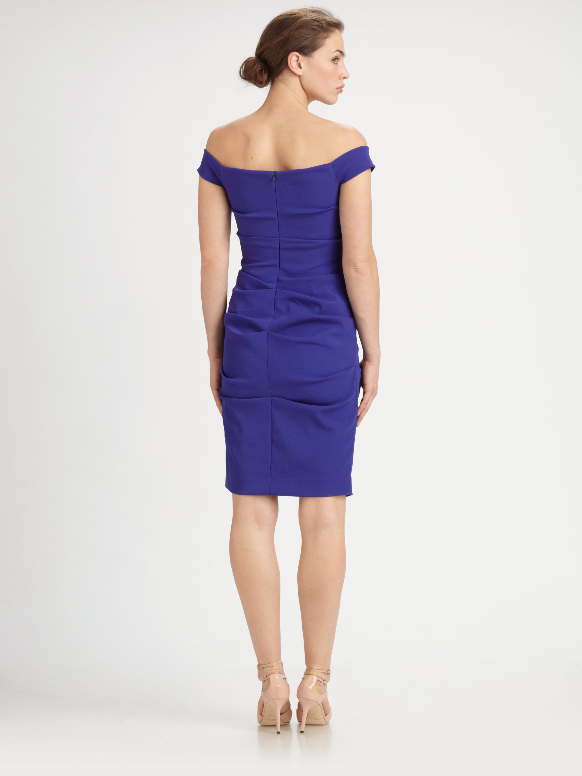 Nicole Miller Off Shoulder Dress Fashion Dresses