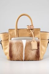 Reed Krakoff Atlantique Mini Fur Leather Tote Bag Spring - Lyst