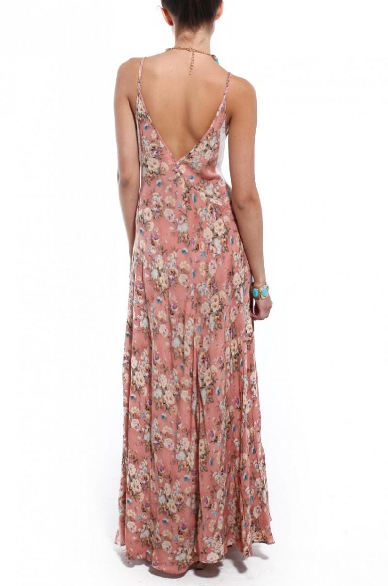 Somedays lovin split maxi dress
