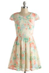 ModCloth Tea Cupcake Dress - Lyst