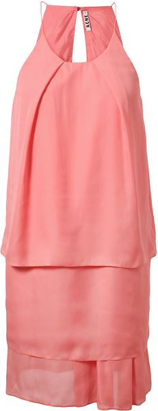 Acne Satya Layered Crepe Dress - Lyst