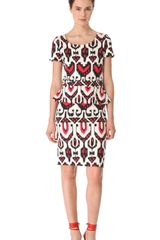 Alice By Temperley Sovereign Ponte Peplum Dress - Lyst