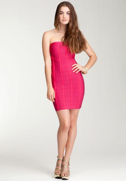 Bebe Foil Tape Bandage Sweater Dress Bebe Addiction In