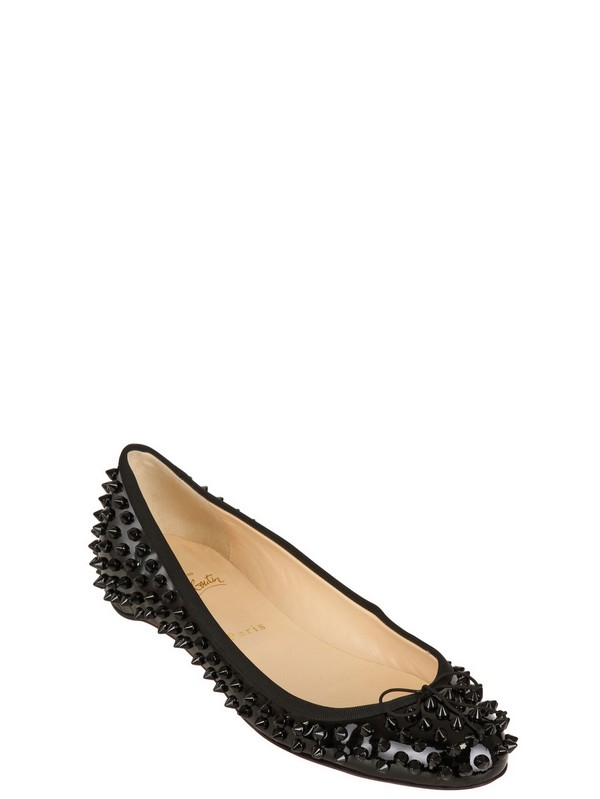 92e633e4a342 The patent spikes stops these pretty little ballet pumps from being  anywhere near boring.