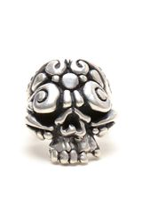 Duffy Sterling Silver Ornate Skull Ring