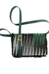 Fendi Daisy Beaded Shoulder Bag