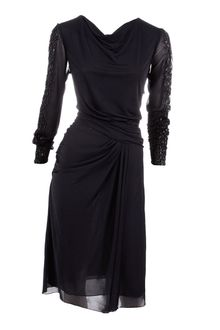 J. Mendel Tribal Draped Dress - Lyst