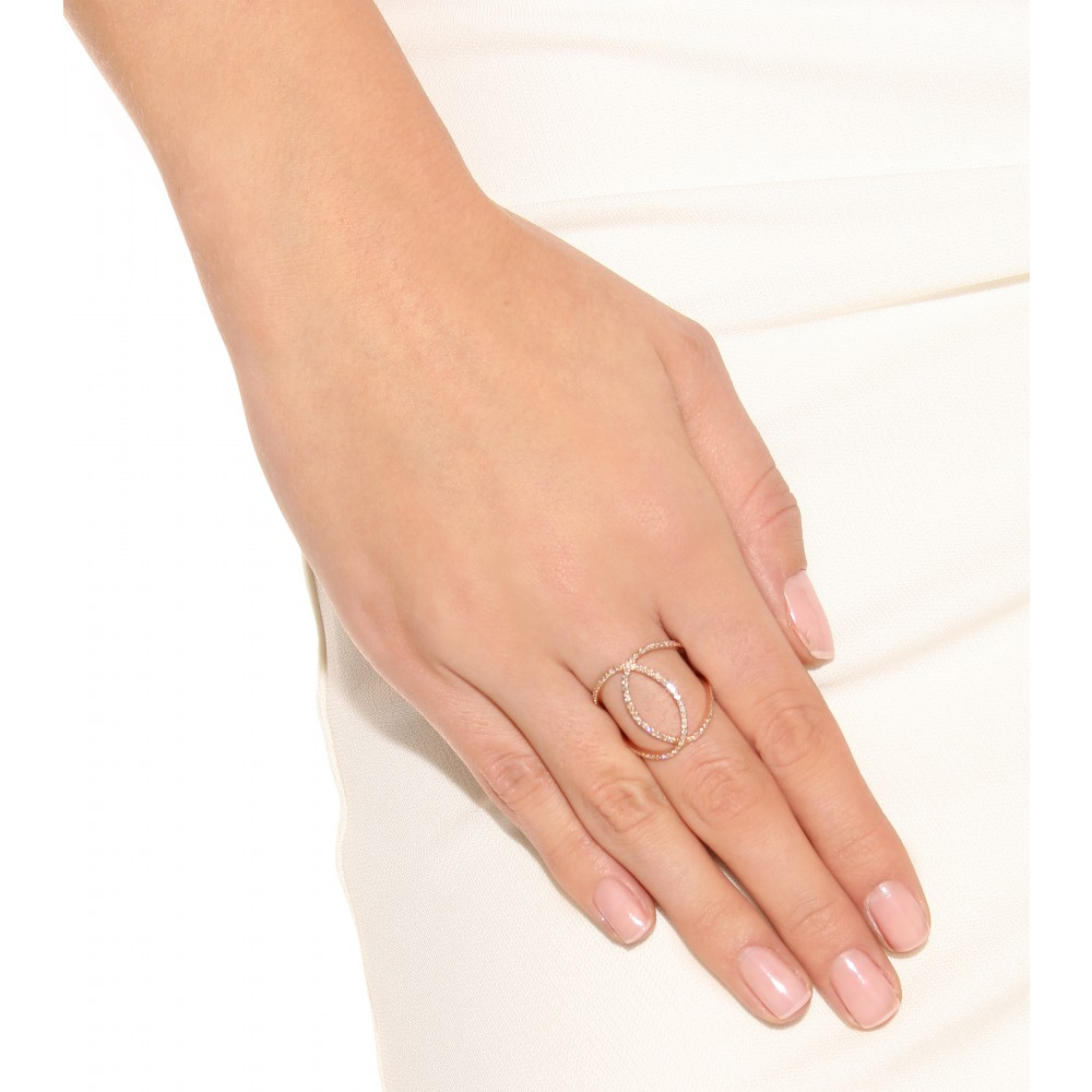 Rose Gold Fashion Rings Uk