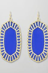 Kendra Scott Delilah Large Drop Earrings - Lyst