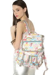 Lesportsac The Double Pocket Pack in Cloud Riders - Lyst