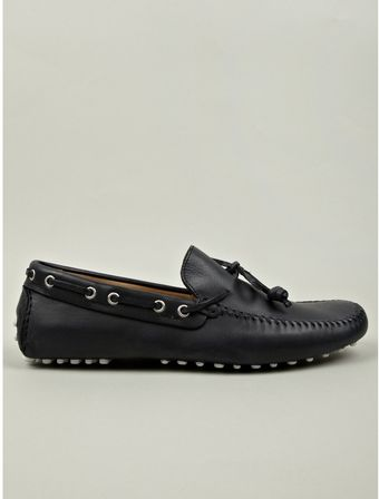 Moschino Cheap & Chic Mens Sergio Navy Driving Shoe - Lyst