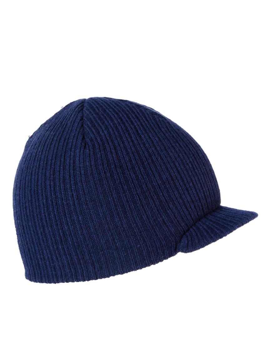 ... purchase lyst nike regional swoosh peaked beanie hat in blue for men  98f3c e6db9 a62464873d6