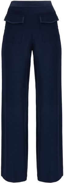 Paul & Joe Wide Leg Silk Pants - Lyst