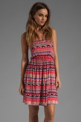 Rachel Pally Oriana Dress in Granita Folk Stripe - Lyst