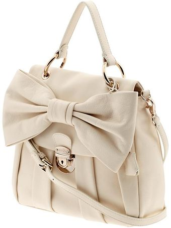 RED Valentino Bow Satchel - Lyst