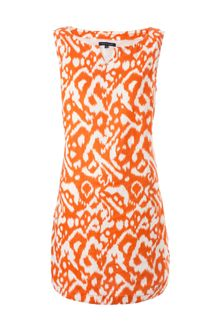 Tommy Hilfiger Aurora Ikat Print Sleeveless Dress - Lyst