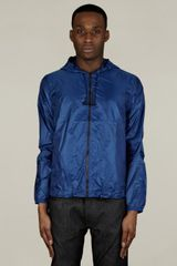 Acne Mens Quentin Blue Windbreaker Jacket - Lyst