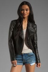 Alice By Temperley Valois Leather Jacket - Lyst