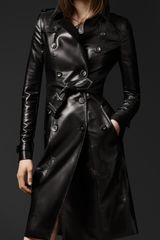 Burberry Prorsum Bright Metallic Trench Coat - Lyst