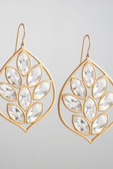 Jamie Wolf Marquise Topaz Acorn Earrings - Lyst