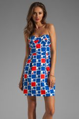Shoshanna Reilly Dress in Gustavia Print - Lyst