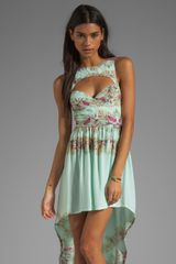This Is A Love Song Marina Del Ray Dress - Lyst