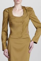 Zac Posen Stretch Suit Jacket - Lyst