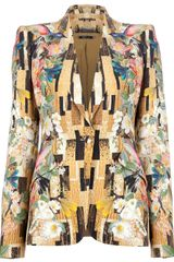 Alexander McQueen Single Breasted Blazer - Lyst