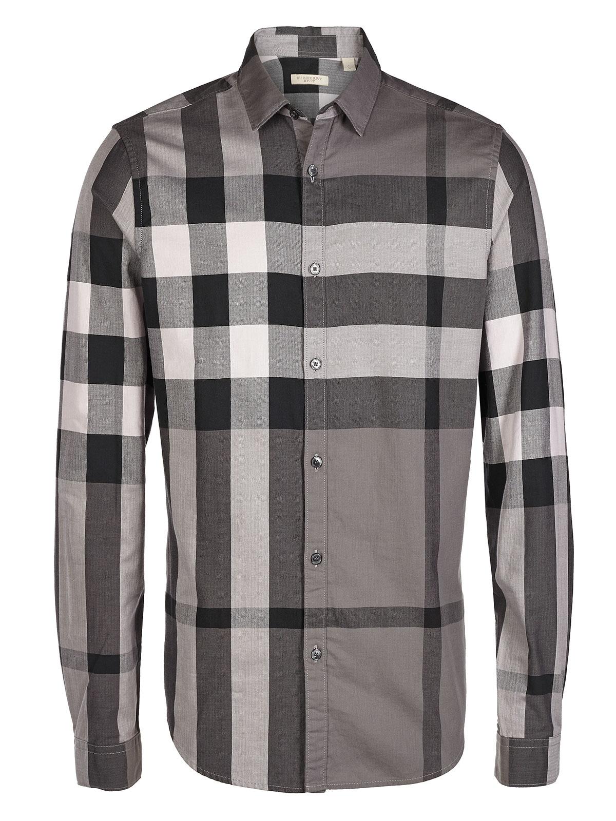 Burberry Mens Plaid Shirt