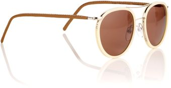 Cutler & Gross Vanilla Aviator Sunglasses - Lyst