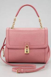 Dolce & Gabbana Miss Dolce Leather Satchel Bag - Lyst