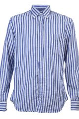 Gitman Bros Striped Shirt - Lyst