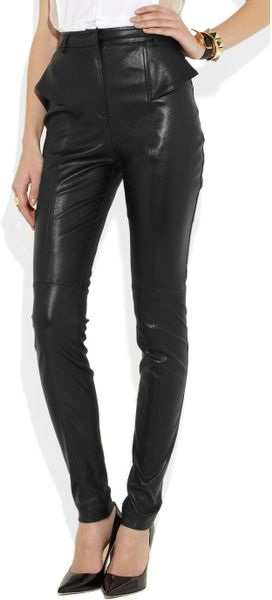 Womens Black High Waisted Skinny Jeans
