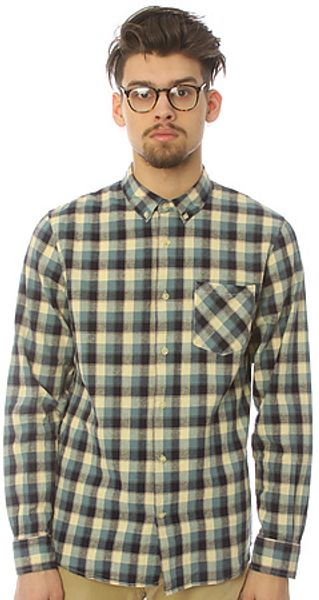 Lifetime Collective The Lucky Man Ls Buttondown Shirt in Blue - Lyst
