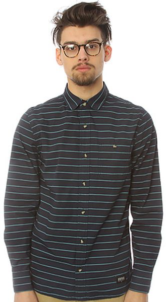Lifetime Collective The True Believers Buttondown Shirt in Dark Blue - Lyst