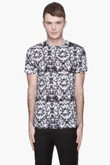 McQ by Alexander McQueen  Bleached Fly Allover Twisted T-Shirt - Lyst