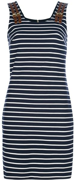 Michael Kors Fitted Dress - Lyst