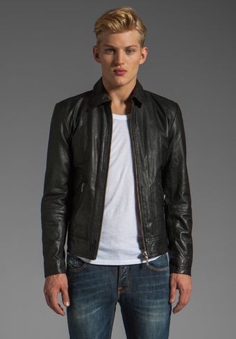 Nudie Jeans Jonny Leather Jacket - Lyst
