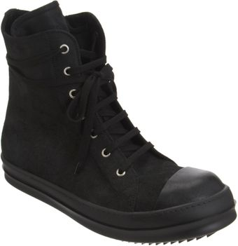 Rick Owens Side Zip High Top - Lyst