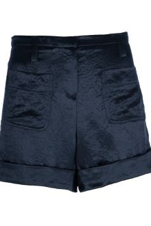 Sonia By Sonia Rykiel Satin Shorts - Lyst