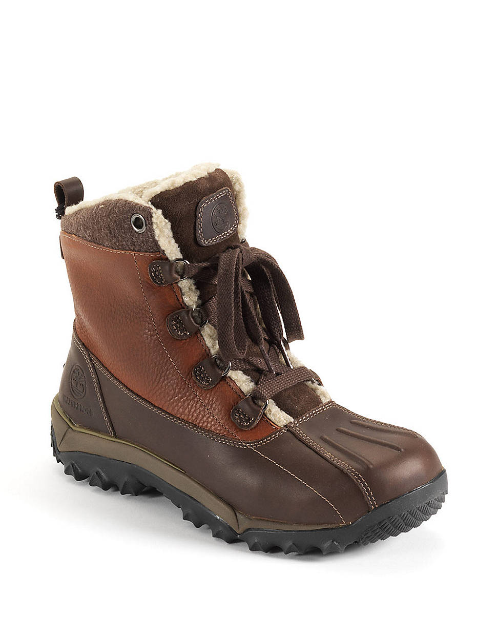 Timberland Woodbury Leather Hiking Boots in Brown for Men   Lyst
