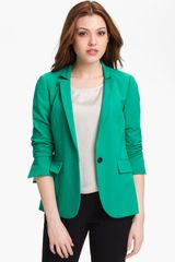 Vince Camuto One Button Blazer - Lyst