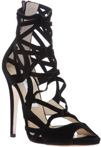 Jimmy Choo Viva Cage Boot - Lyst