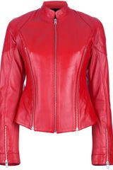 McQ by Alexander McQueen Leather Jacket - Lyst