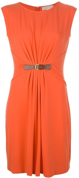 Michael Kors Sleeveless Dress - Lyst