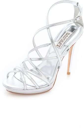 Badgley Mischka Adonis Ii High Heel Sandals - Lyst