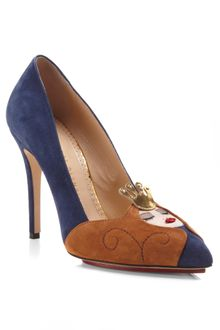 Charlotte Olympia Sleeping Beauty Court Shoe - Lyst