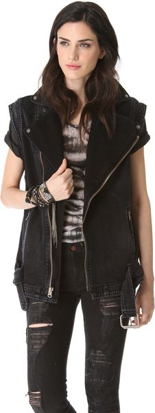 Citizens Of Humanity Moto Vest - Lyst
